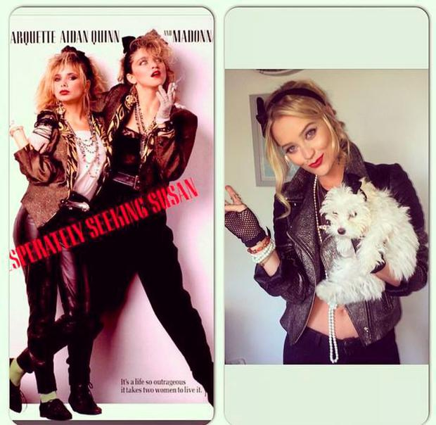 Laura Whitmore channelling her inner Madonna ahead of her 30th birthday celebrations Pic: Laura Whitmore/Instagram