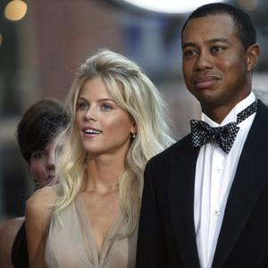 Tiger Woods and his ex-wife, Elin Nordegren