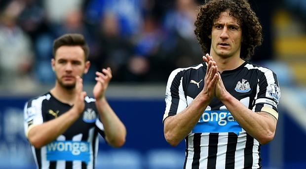 Under scrutiny: Fabricio Coloccini could lose the captaincy Photo: GETTY IMAGES
