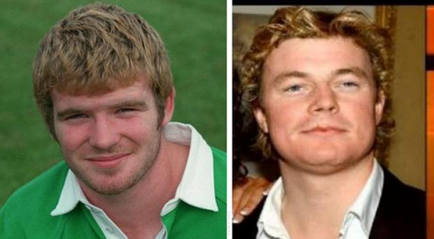 Brian O'Driscoll and Gordon D'Arcy were in top form on social media today