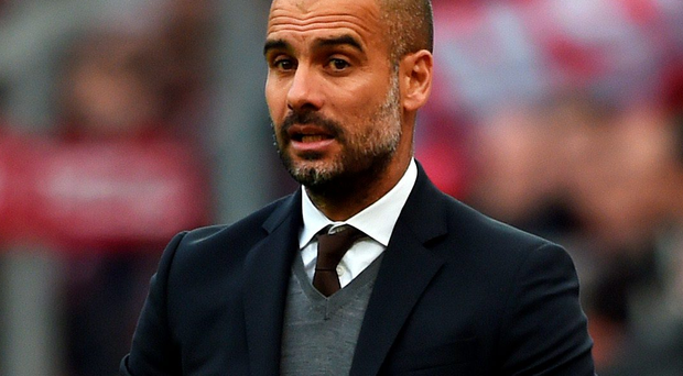 Pep Guardiola won 14 trophies while coach of Barcelona but is now in charge of Bayern Munich