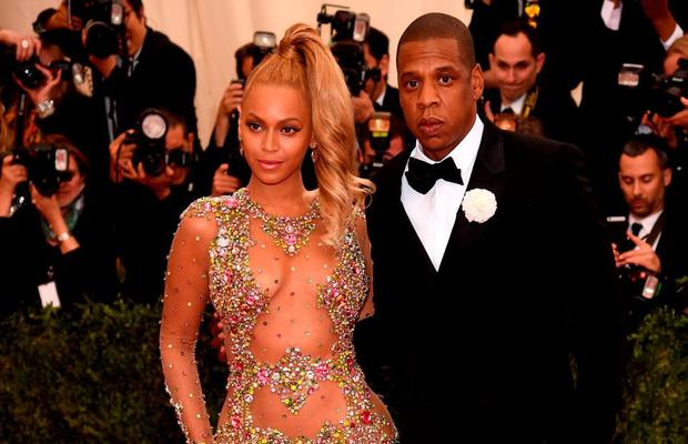 Beyonce and Jay-Z at the 2015 Met Gala
