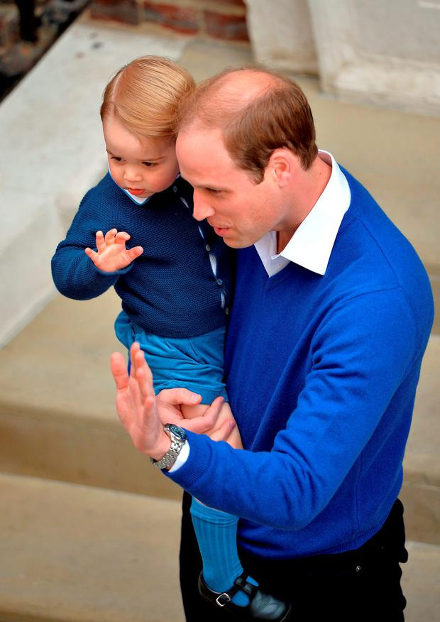 Prince George's blue jumper sells out after wearing it to ...