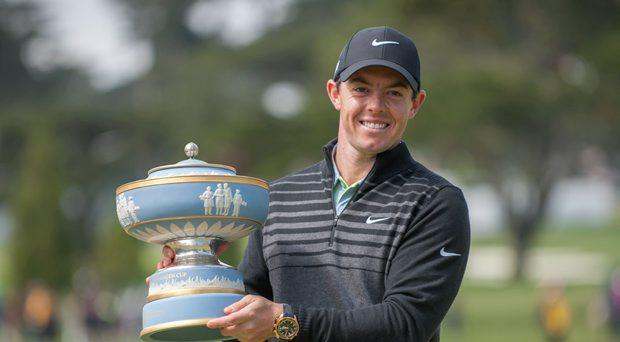 Rory McIlroy will play with Jordan Spieth this weekend