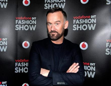 Brendan Courtney a the Vodafone DIT Fashion Show 2015 at Vicar Street