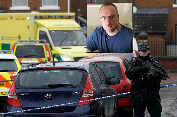 Gerard 'Jock' Davison was shot on Tuesday morning in the Markets area at 9.15am.