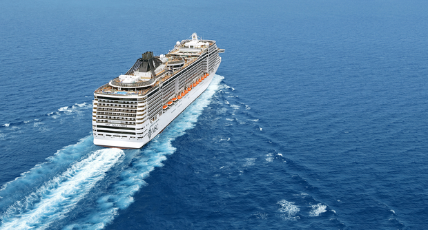 MSC Splendida: Dublin bound on May 11.