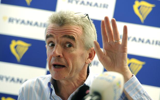 Michael O'Leary, Ryanair's Chief executive