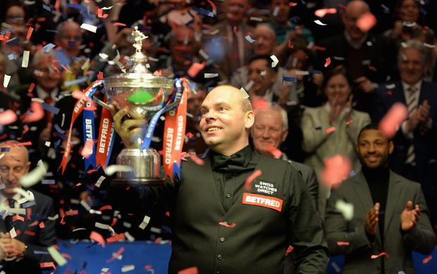 Stuart Bingham: 'Twenty years of blood, sweat and tears and this is the moment that is going to change my life forever.'