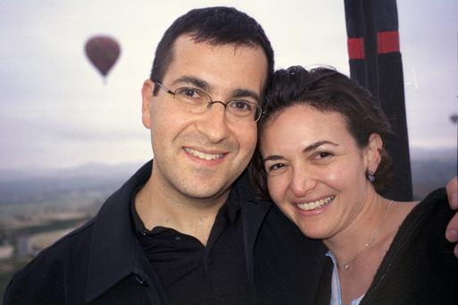 Sheryl Sandberg pictured with her late husband Dave Goldberg (Photo: Facebook/Sheryl Sandberg)
