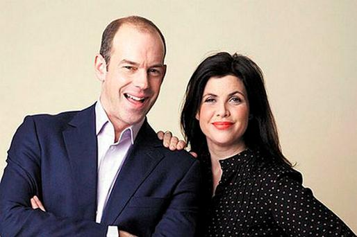 Phil Spencer and Kirstie Allsopp. PIC: Channel 4