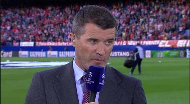 ITV pundit Roy Keane was less than impressed by Bayern Munich's defending tonight.