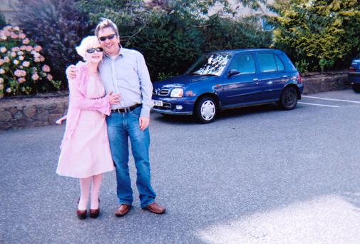 Denise and Bernard in their last photograph together before she died.