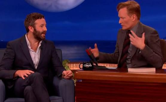 Chris O'Dowd on Conan