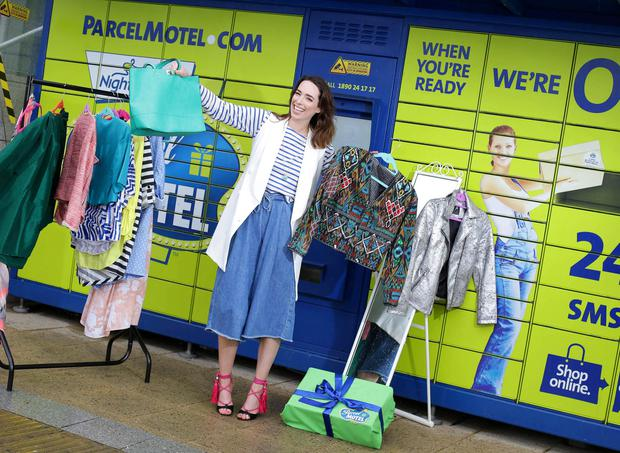 Stylist Ciara O'Doherty as Parcel Motel are celebrating their 3rd birthday by offering Irish customers free returns to their favourite online retailers for the month of May.