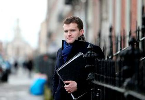 Greg Kavanagh pictured for Sunday Independent. Picture; GERRY MOONEY. 18/2/14