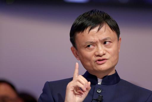 Jack Ma, the founder of Alibaba. Photographer: Chris Ratcliffe/Bloomberg