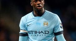Yaya Toure will have to accept a wage cut to move to Inter Milan