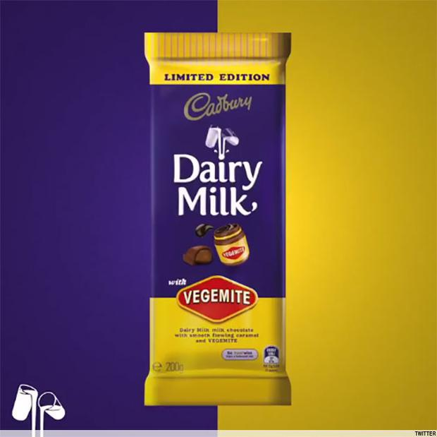 A limited edition Cadburys bar infused with vegemite will go into circulation on June 1st