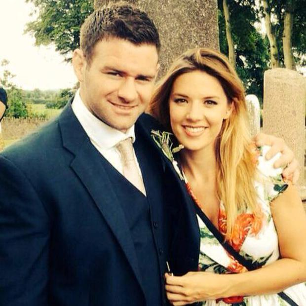 Fergus McFadden and Rebecca Sinnamon