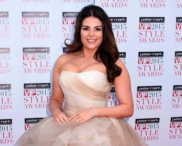 Lisa Cannon at the VIP Style Awards