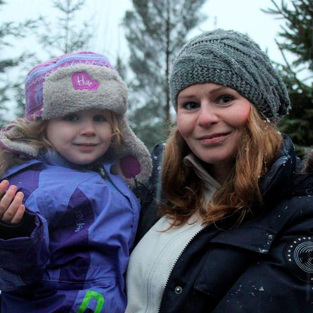 Yvonne Buchtrup and daughter Ella Pic: Facebook