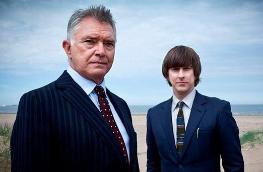 Martin SHaw with Lee INgleby as sidekick Sg Bacchus in Inspector George Gently