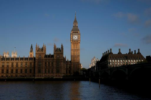 The Big Ben clock and the Houses of Parliament are seen in the early morning in central London, Britain May 7, 2015. Reuters/Stefan Wermuth