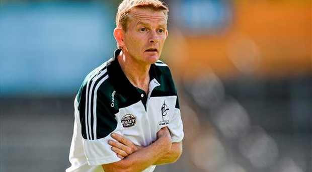 Brendan Hackett's side face Laois in the quarter-final tomorrow week and the Kildare manager was unaware of any biting allegation (Sportsfile)