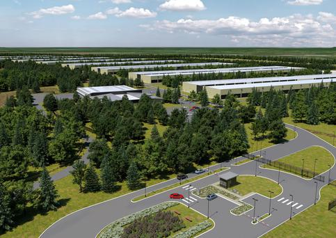 The proposed Apple data centre in Athenry, Co Galway, work on which will begin later this year