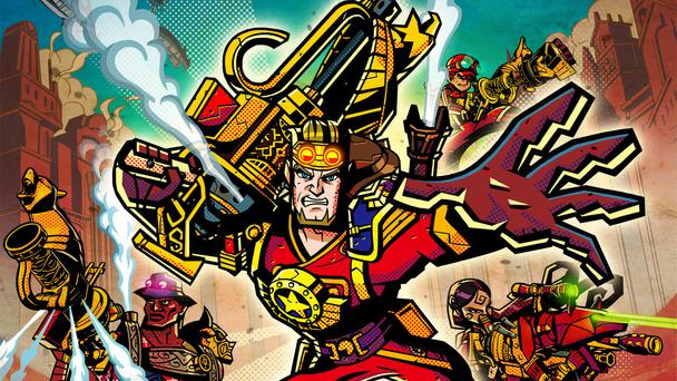 Code Name STEAM: From the people who brought us Fire Emblem and Advance Wars