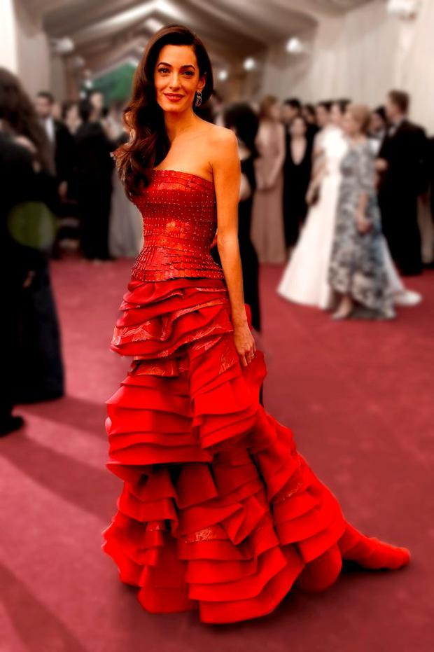 Amal Clooney attends the