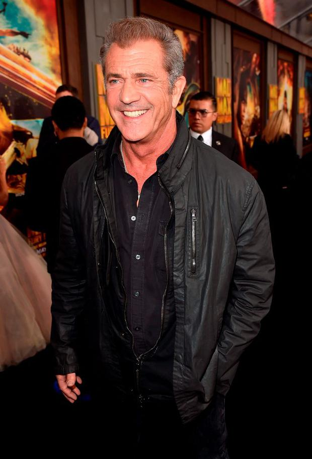 Actor Mel Gibson attends the premiere of Warner Bros. Pictures'