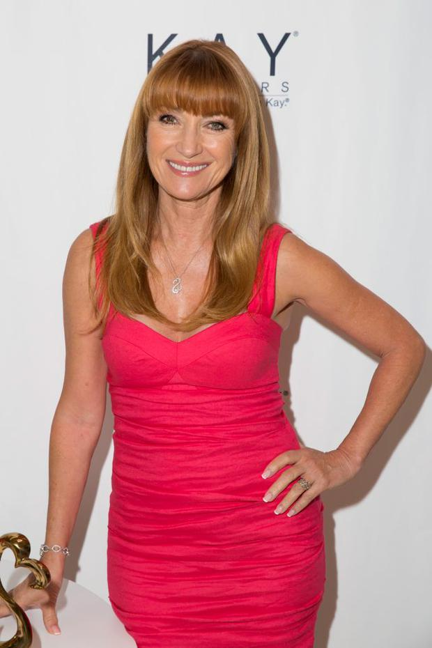 Jane Seymour attends Celebrating Mom With An Open Heart Live Art Installation at Westfield Culver City Shopping Mall on May 7, 2015 in Culver City, California. (Photo by Alison Buck/Getty Images)