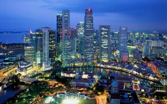 The city of Singapore