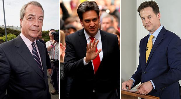 Ed Miliband, Nick Clegg and Nigel Farage all resigned following election disaster in the UK