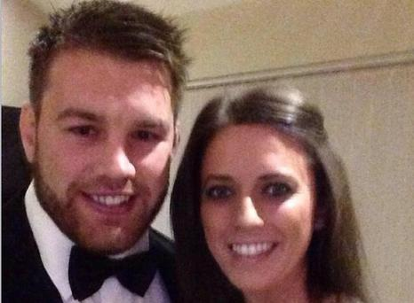 Sean O'Brien and girlfriend Denise Smyth