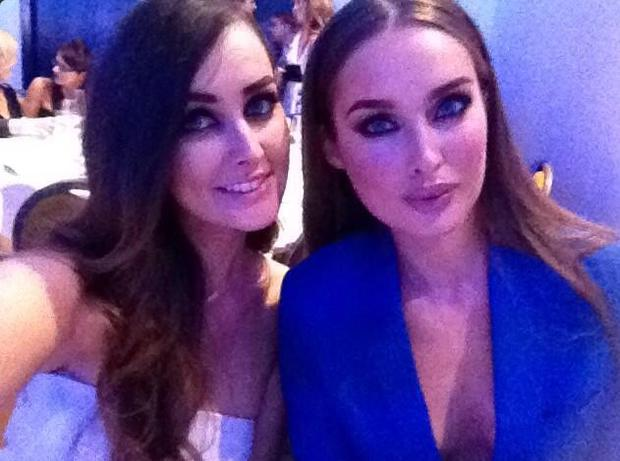 Roz Purcell and sister Rachel