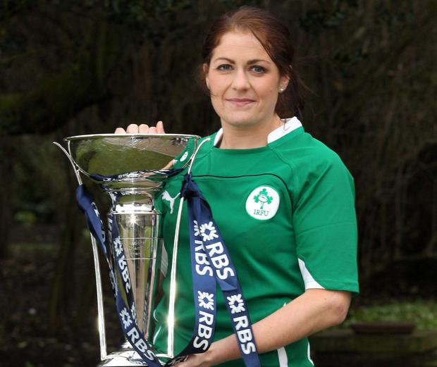 One of the sessions will see sporting stars, including Dublin footballer Bernard Brogan, former Kilkenny hurler Henry Shefflin, former Ireland rugby captain Fiona Coughlan (pictured) and professional cyclist Nicholas Roche, sharing their thoughts on 'how individuals can achieve a competitive advantage in their chosen field'