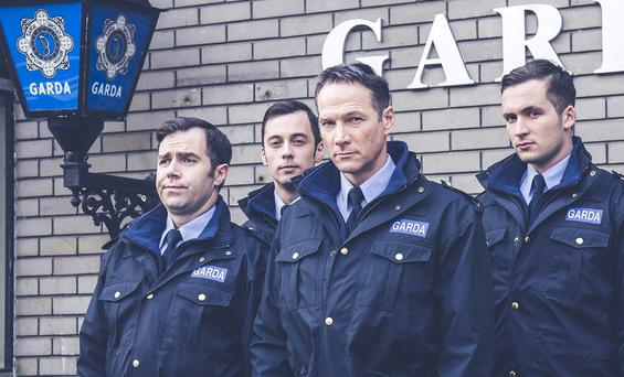Gardaí in TV3's drama Red Rock. But we need to make sure our gardaí are doing more than just acting the part