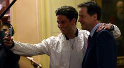 "British reality TV ""sensation"" Joey Essex appeared with almost all parties in some teeth-clenchingly embarrassing photo-opportunity with party leaders"