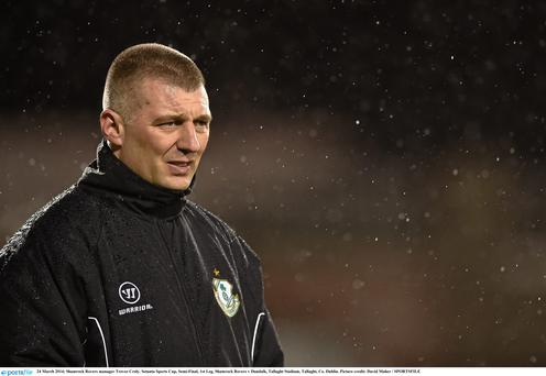 Former Shamrock Rovers manager Trevor Croly is set to take over at Bray