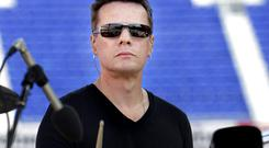 A man was trespassing at the home of U2 drummer Larry Mullen
