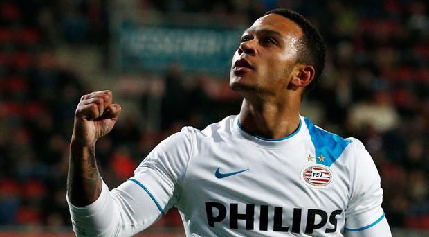 Memphis Depay is said to have met Liverpool's representatives at Manchester airport two weeks ago, triggering an epidemic of media speculation