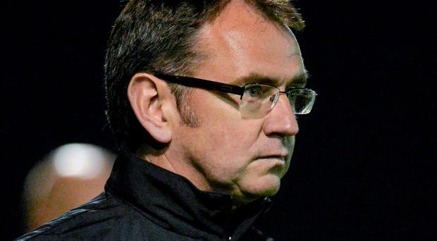 Shamrock Rovers manager Pat Fenlon was left disappointed his side's clash against St Patrick's Athletic was called off due to an unplayable pitch