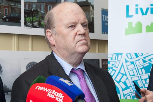 Finance Minister Michael Noonan has insisted that his remark that some people were 'allergic to work' 'speaks for itself'