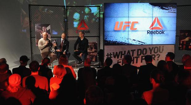 Reebok announced this week a $70m sponsorship deal with the UFC