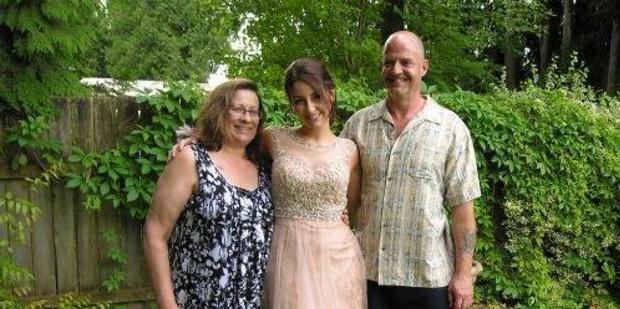 Randy Janzen and his family, wife Laurel and daughter Emily Credit: Facebook