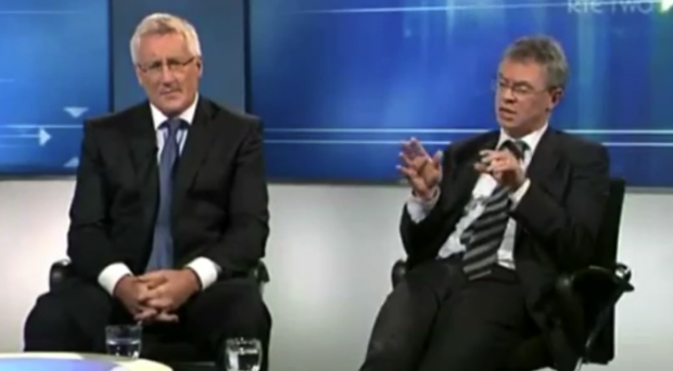 Sunday Game pundits Joe Brolly and Pat Spillane