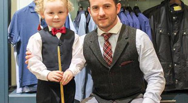 Adam Wynne and his uncle Bernard were on The Late Late Show last night talking about Adam's sensational snooker skills!